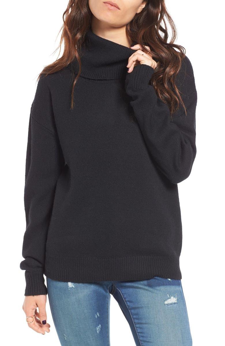 BP. Turtleneck Sweater, Main, color, 001