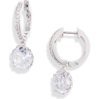 Kate Spade New York That Sparkle Pave Huggie Hoop Earrings