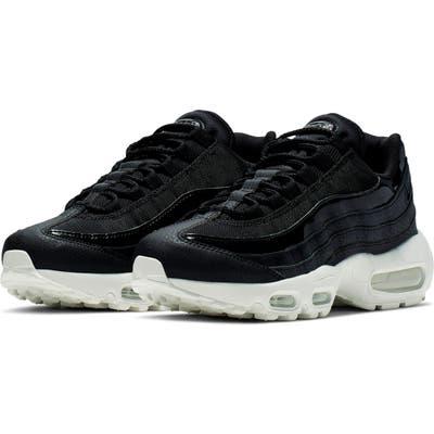 Nike Air Max 95 Se Running Shoe- Black