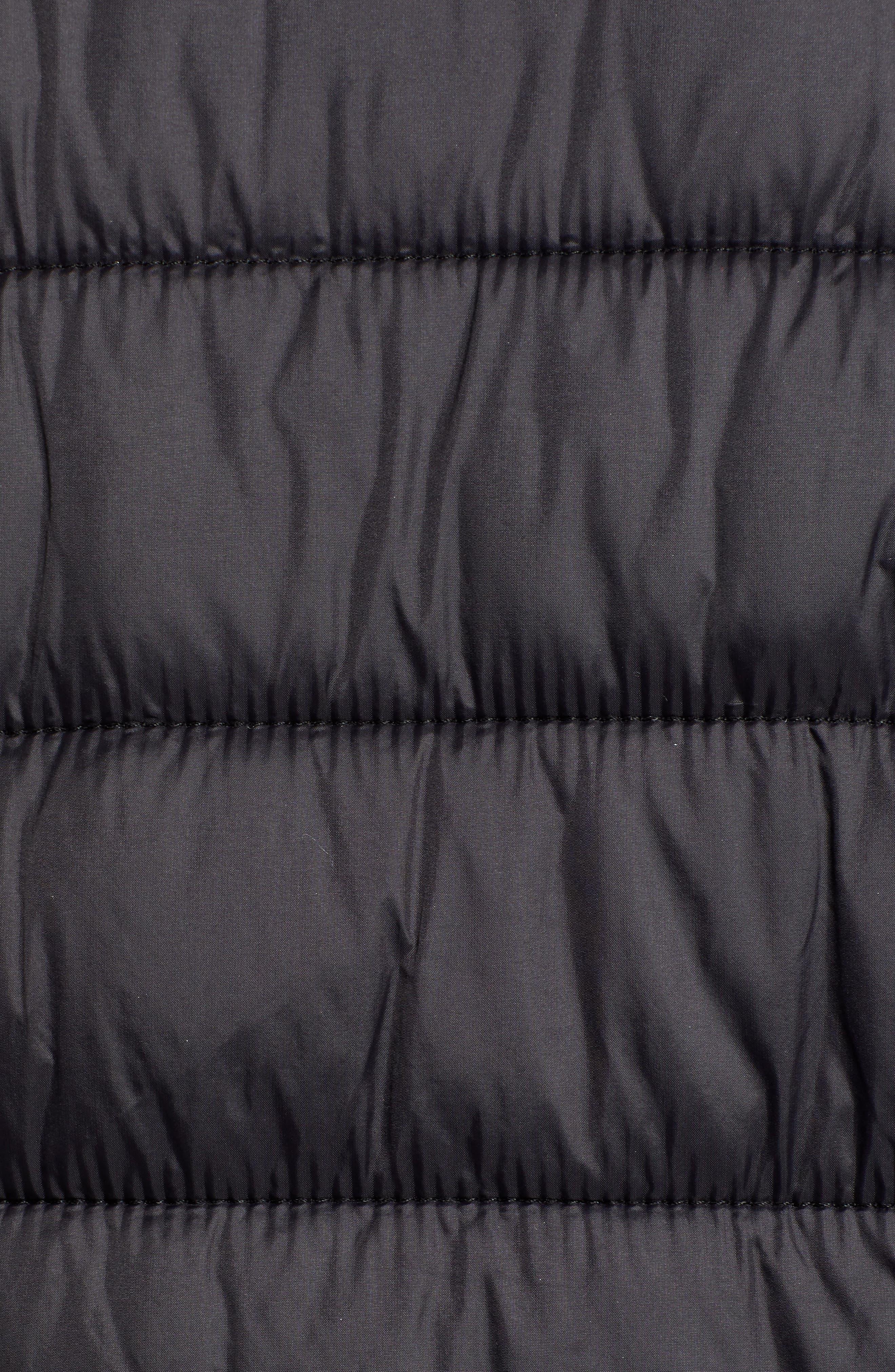 ,                             Mark New York Packable Knit Trim Puffer Jacket,                             Alternate thumbnail 6, color,                             008