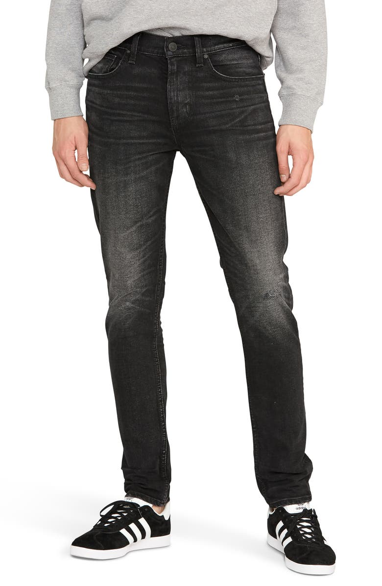 HUDSON JEANS Axl Skinny Fit Jeans, Main, color, RINGER