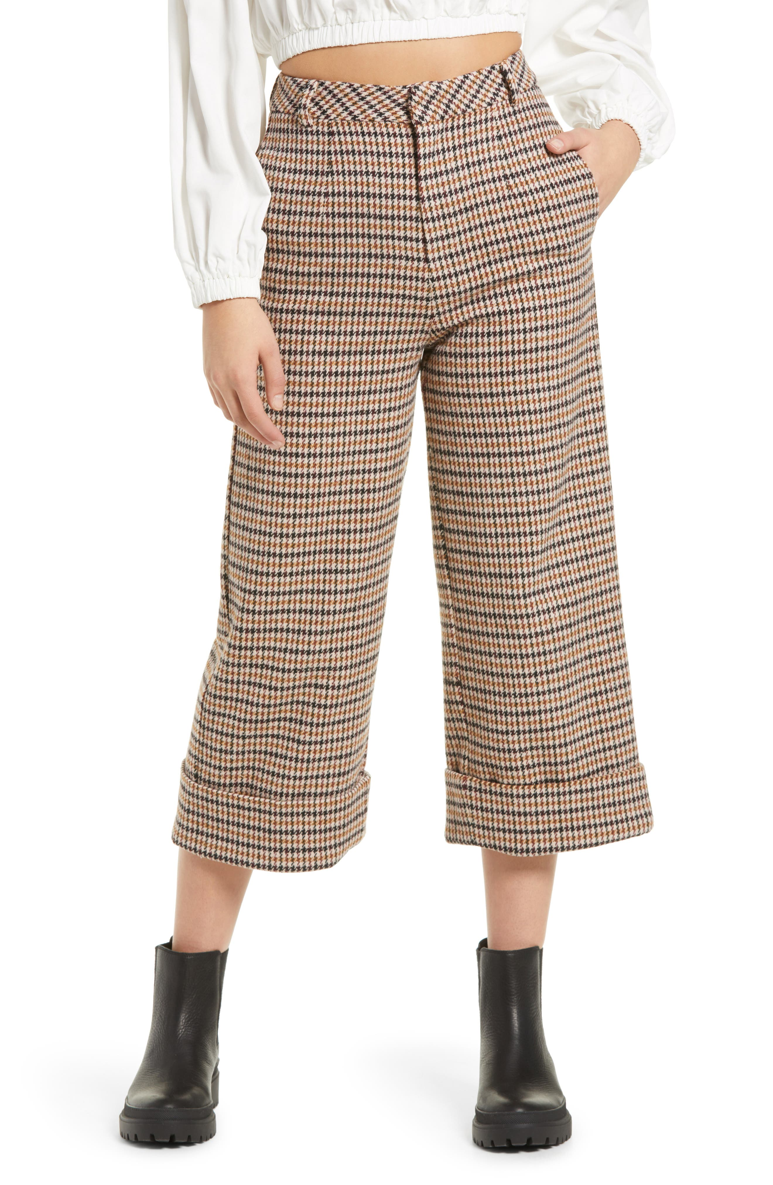 Women's Rye Wide Leg Cuffed Pants