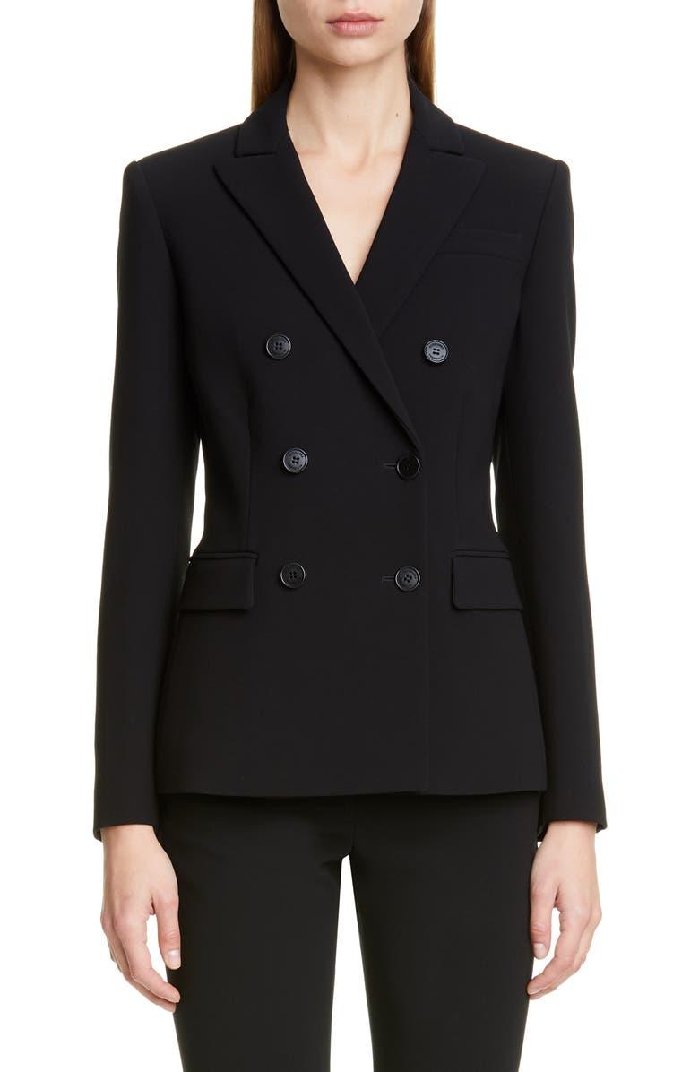ALTUZARRA Double Breasted Jacket, Main, color, 001