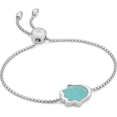 Monica Vinader Atlantis Hamsa Stone Friendship Bracelet