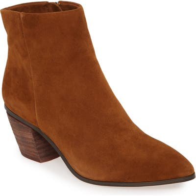 Vince Camuto Grasem Pointed Toe Western Boot- Brown