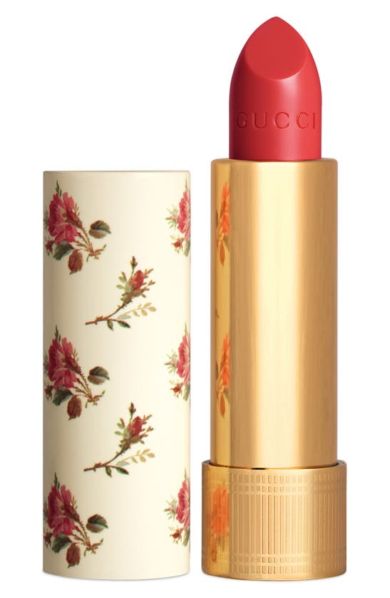 Gucci Rouge A Levres Voile Sheer Lipstick In Red