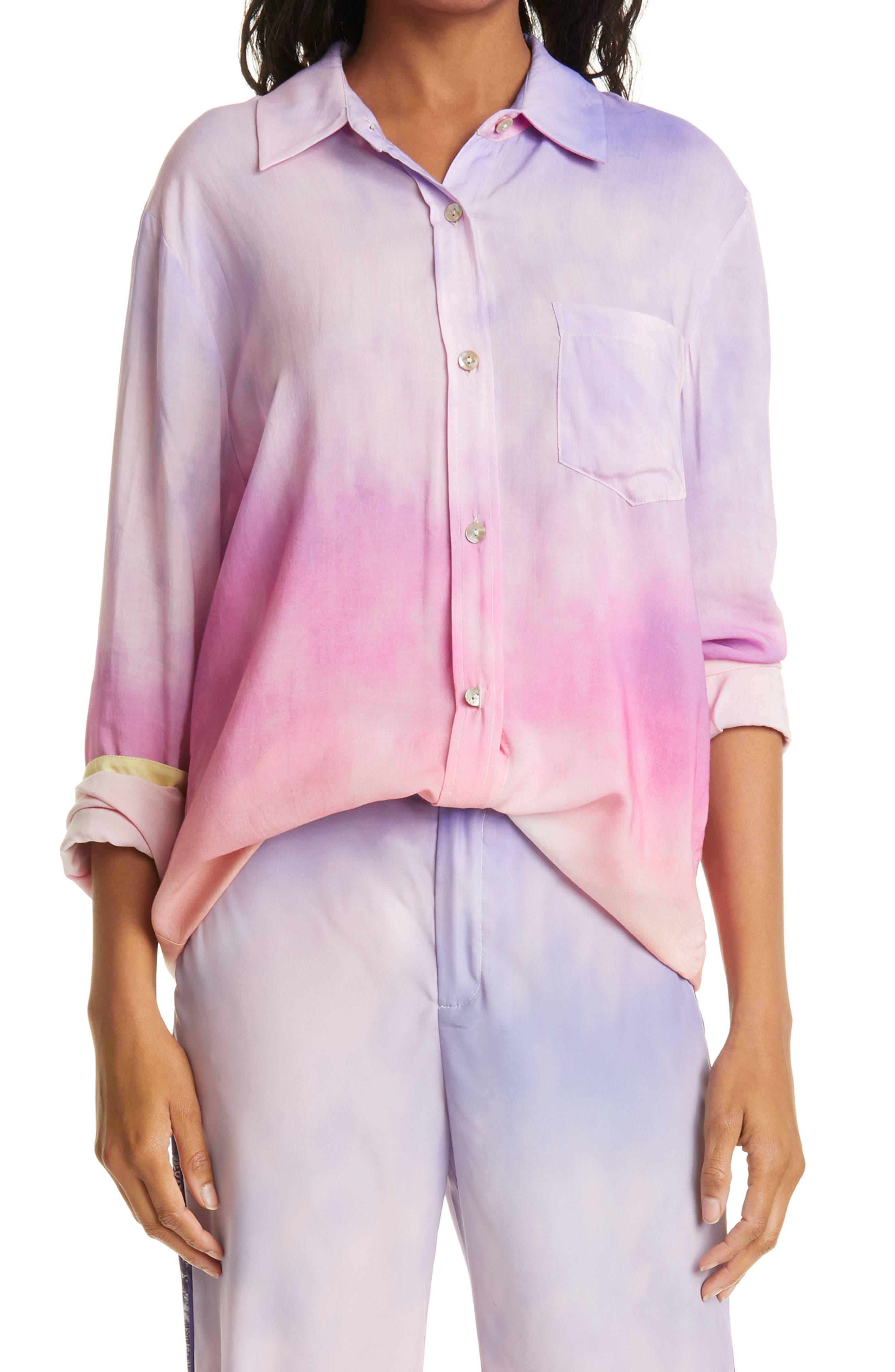 Off My Cloud Ex Boyfriend Button-Up Shirt
