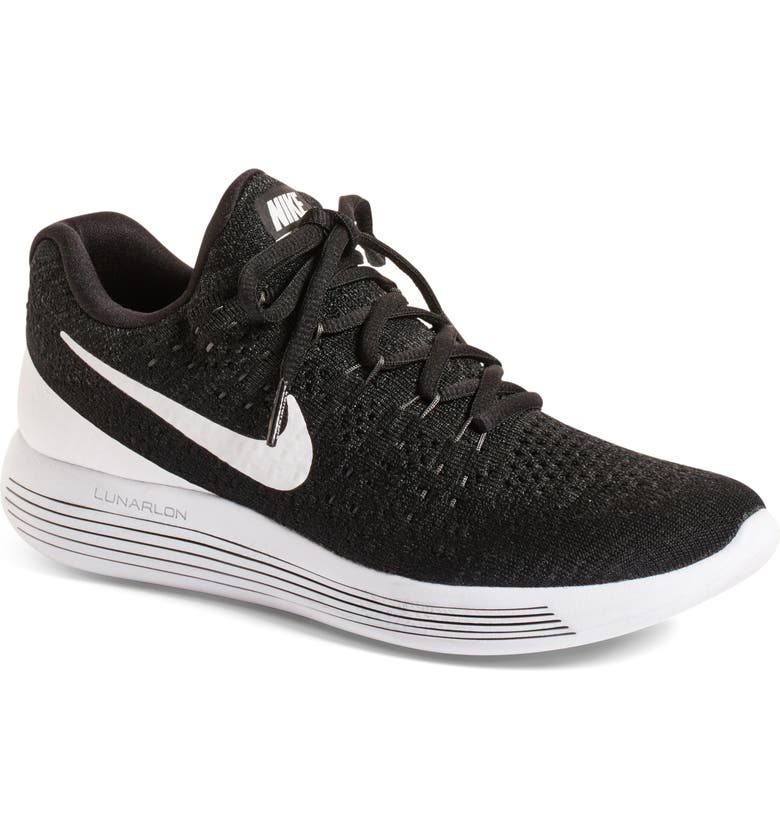NIKE Flyknit 2 LunarEpic Running Shoe, Main, color, 001
