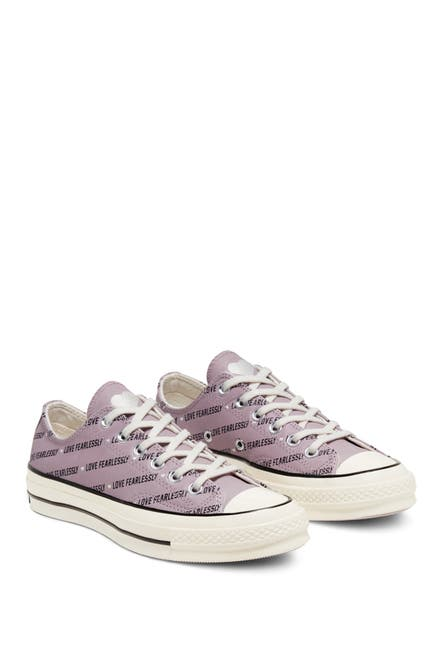 Image of Converse Chuck 70 Love Fearlessly Oxford Sneaker