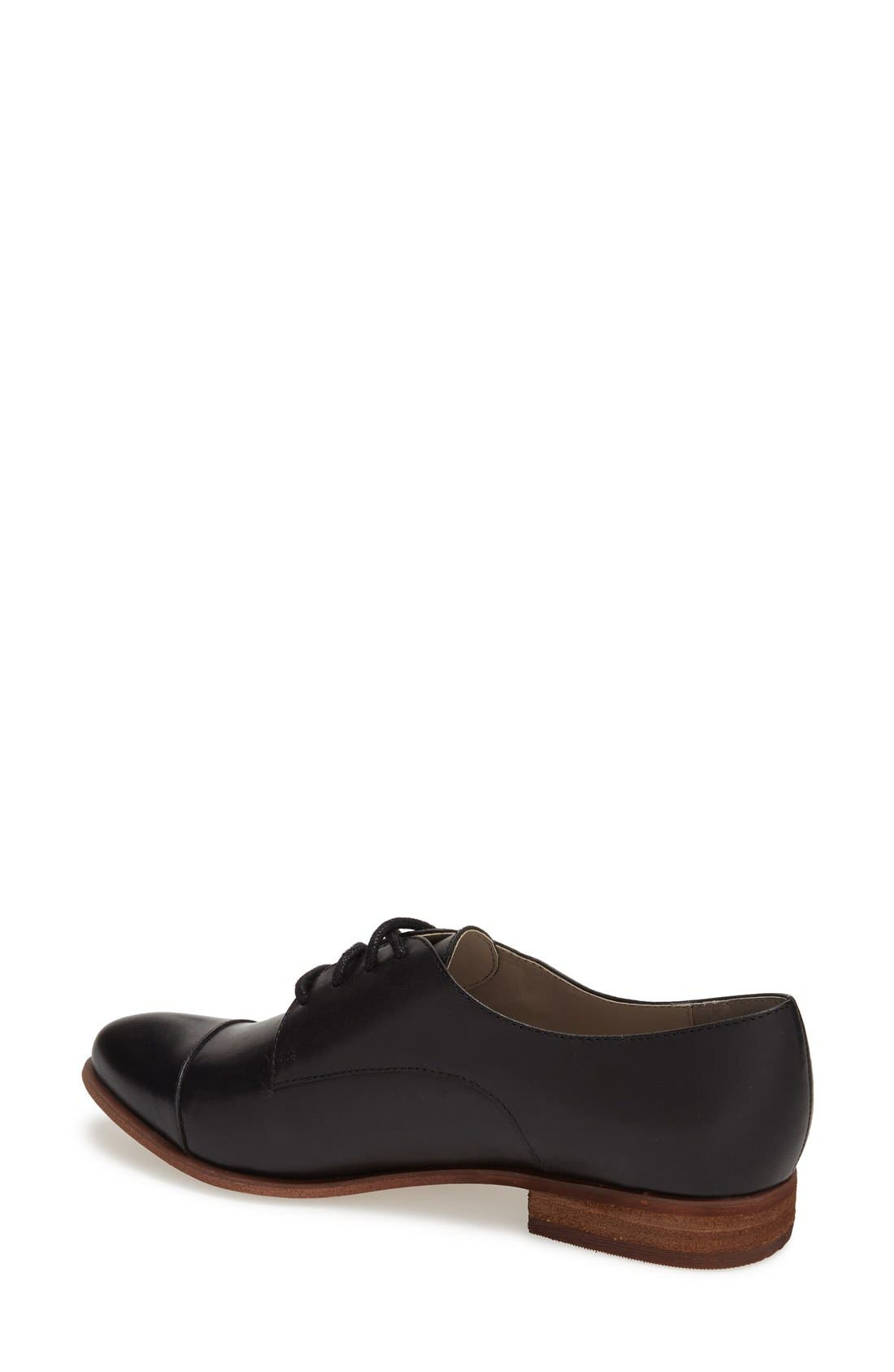,                             'Benito' Lace-Up Oxford,                             Alternate thumbnail 3, color,                             001