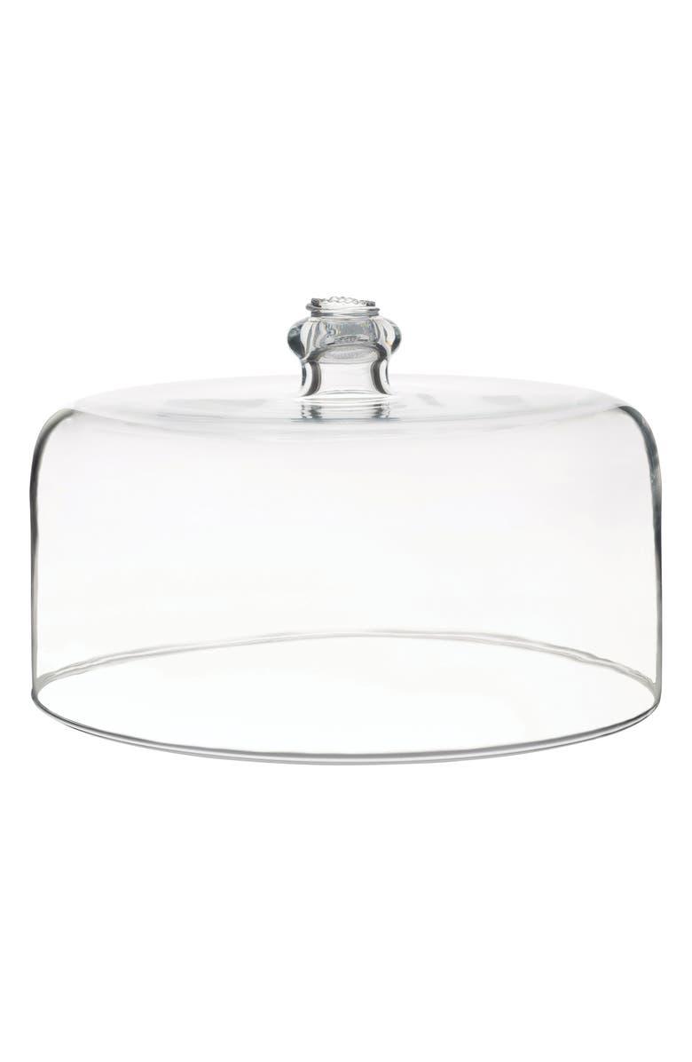 JULISKA Berry & Thread Glass Cake Dome, Main, color, CLEAR