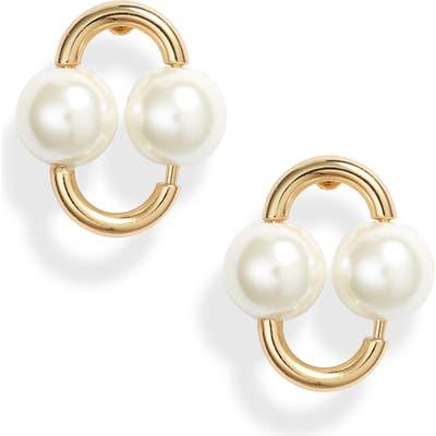 Kate Spade New York Nouveau Imitation Pearl Earrings