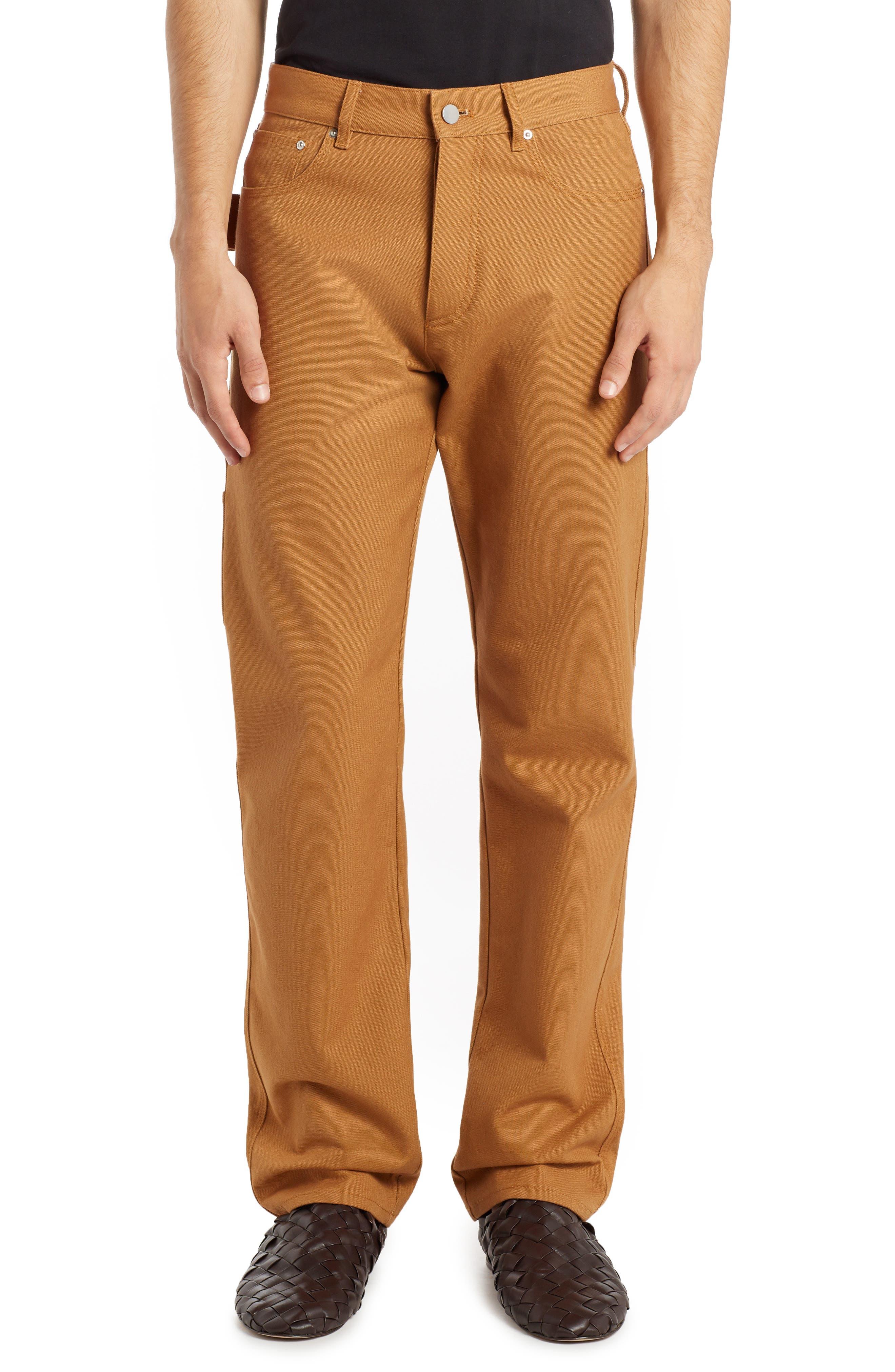 Men's Bottega Veneta Cotton Carpenter Pants