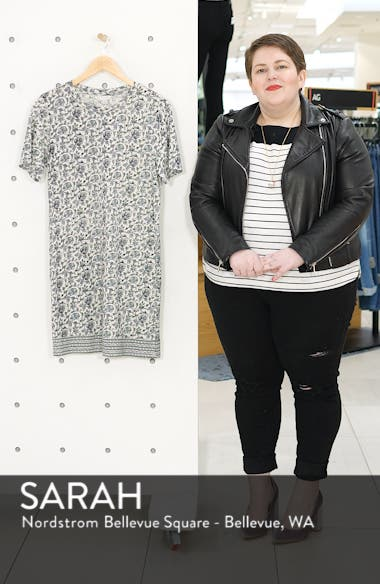 Woodblock T-Shirt Dress, sales video thumbnail