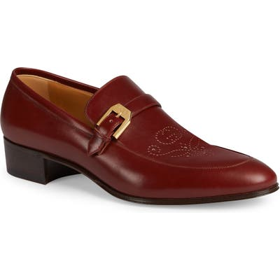 Gucci Loafer, Red