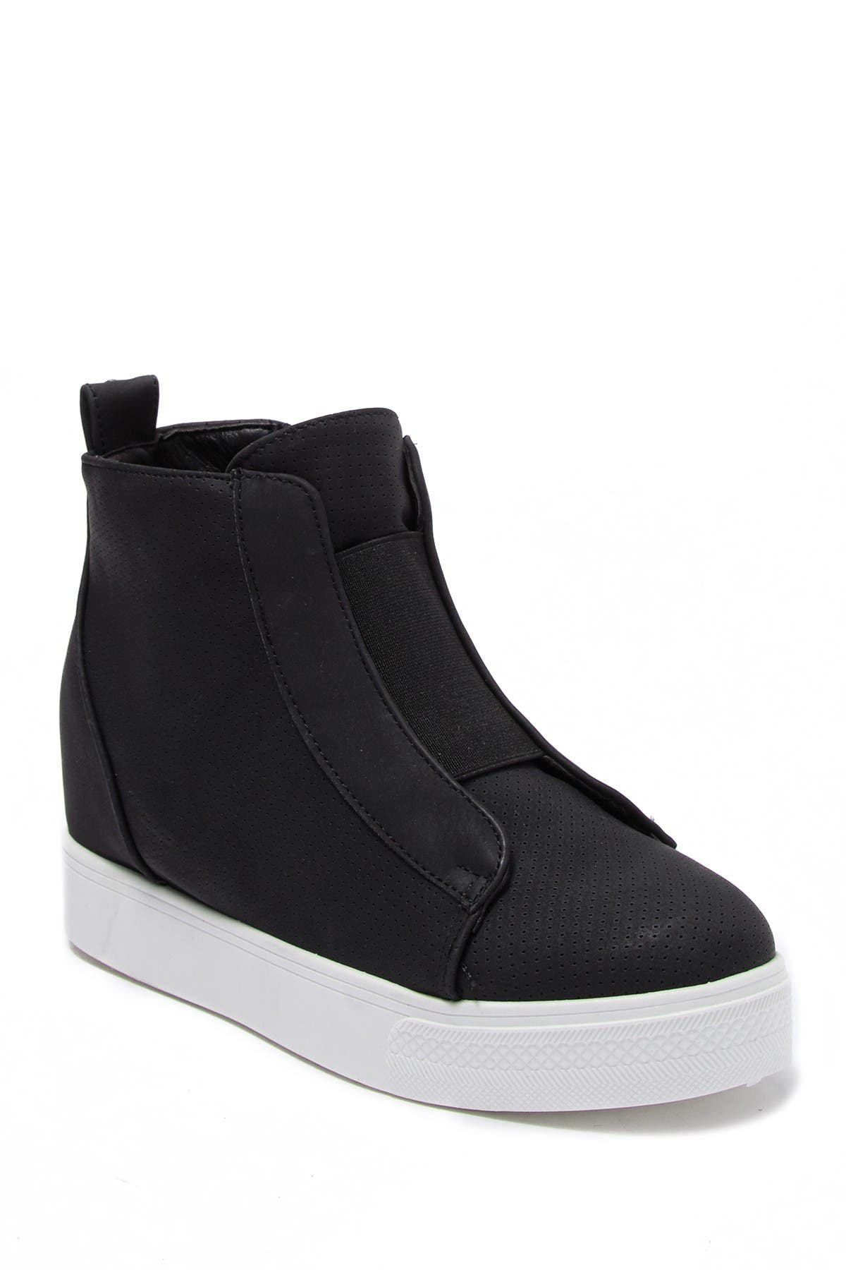 Image of DANSKIN Instinct High Top Wedge Sneaker
