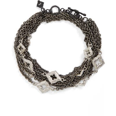 Armenta New World Double Wrap Scroll Bracelet