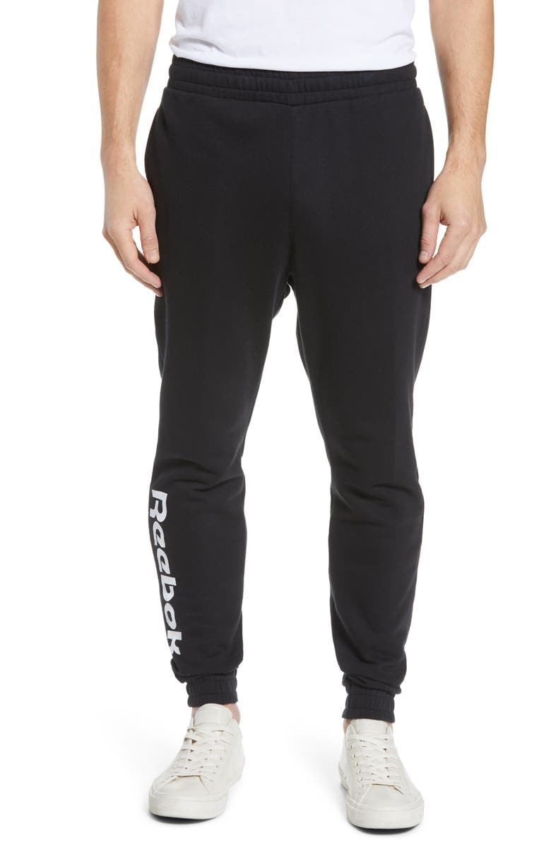 REEBOK Vector Sweatpants, Main, color, BLACK
