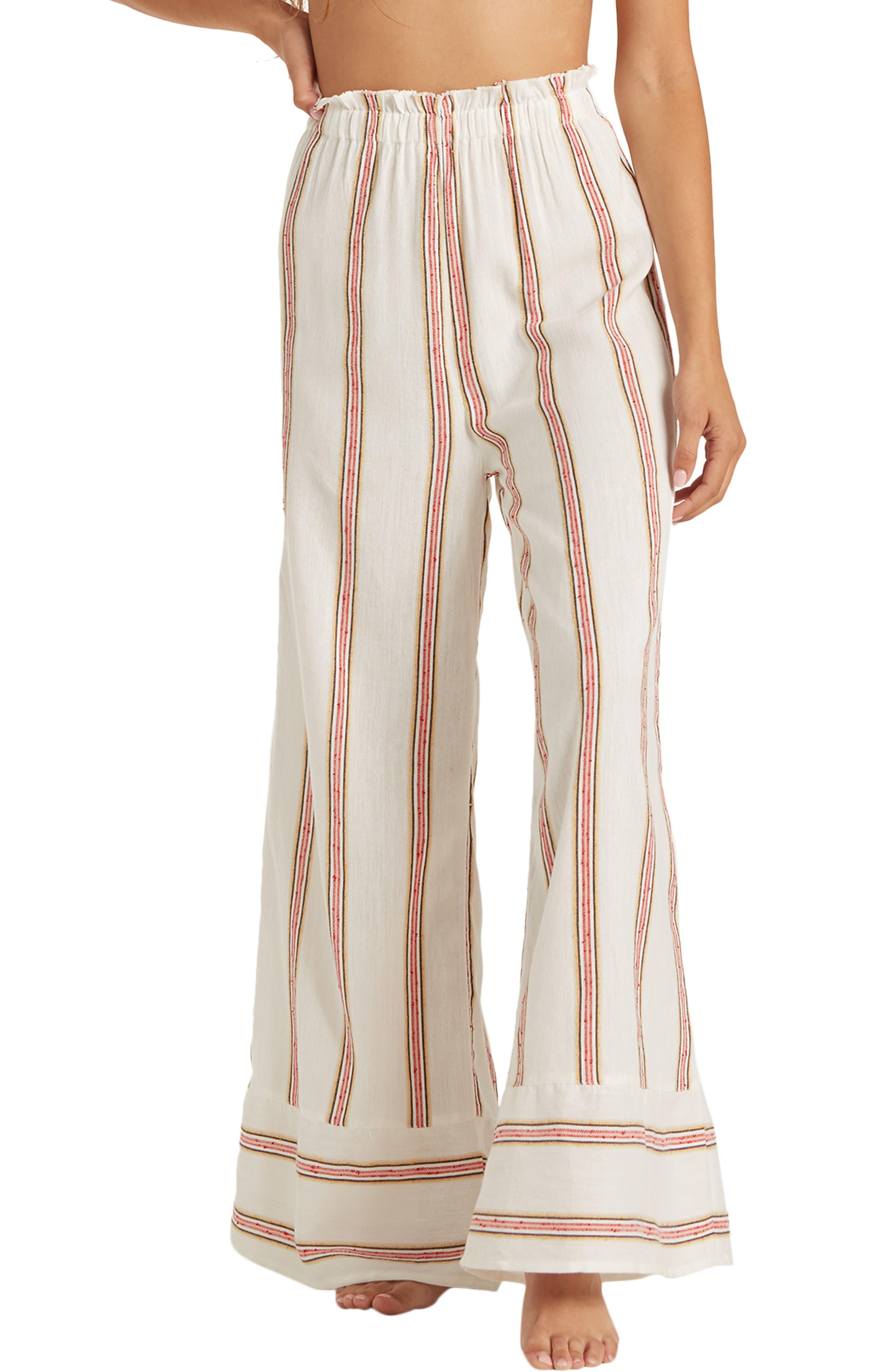 Billabong Stripe Wide Leg Pants | Nordstrom