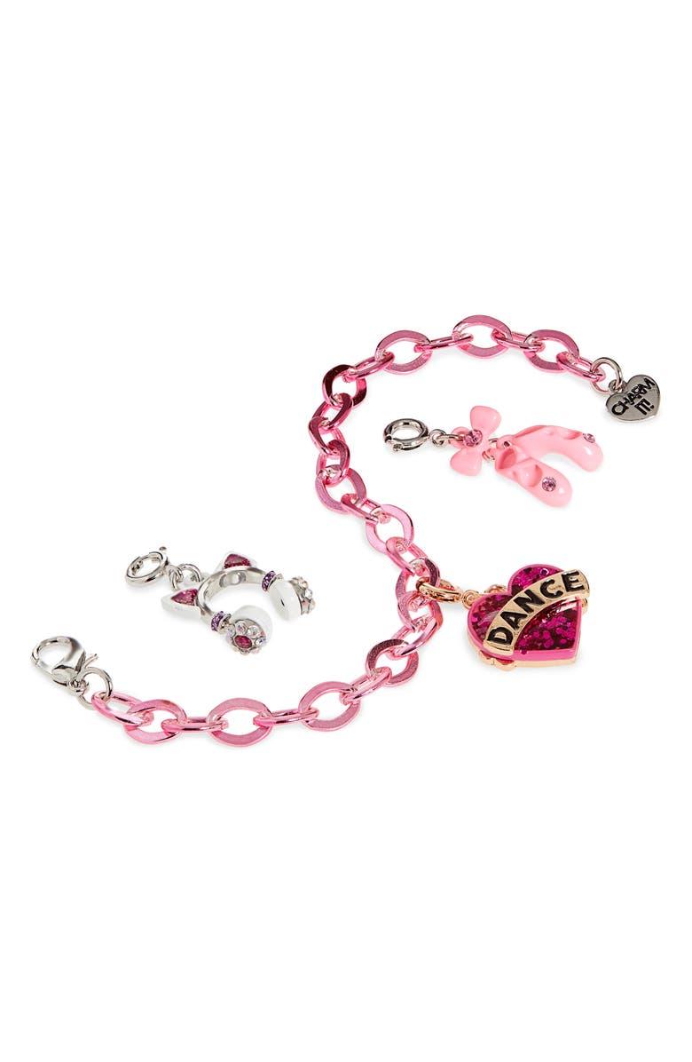 CHARM IT!<SUP>®</SUP> Dance Charm Bracelet Gift Set, Main, color, NO COLOR