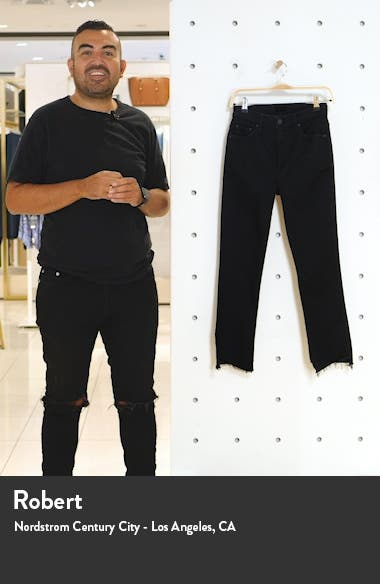 The Insider Two Step Fray Hem Crop Jeans, sales video thumbnail