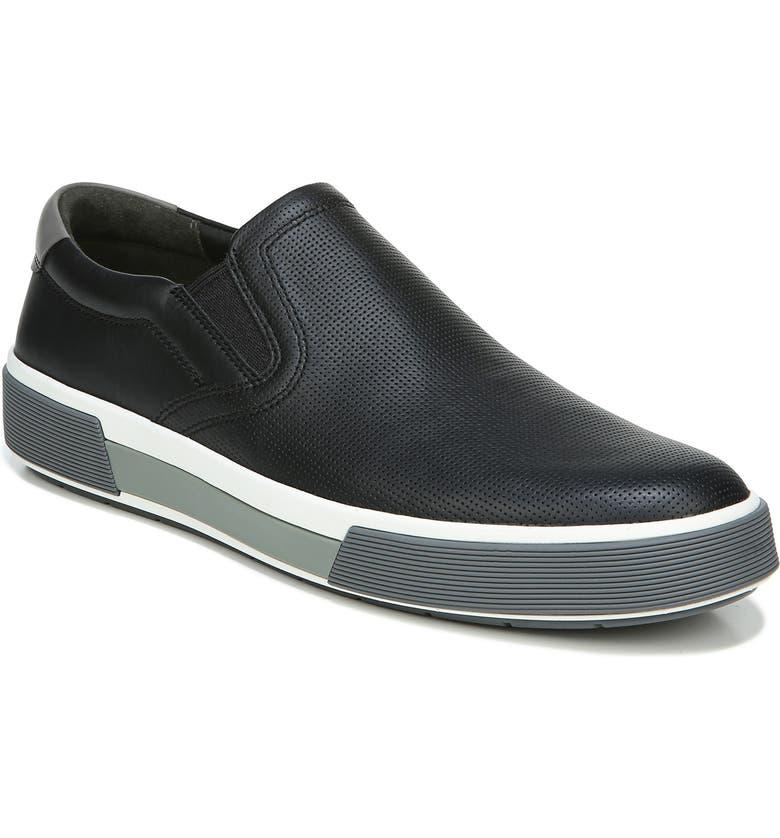 VINCE Robinson Slip-On Sneaker, Main, color, BLACK