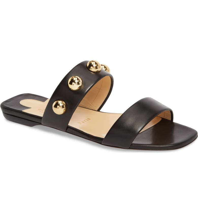 best service 05602 6eb07 Simple Bille Ornament Slide Sandal