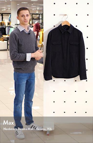 Featherweight Journeyman Cashmere Shirt Jacket, sales video thumbnail