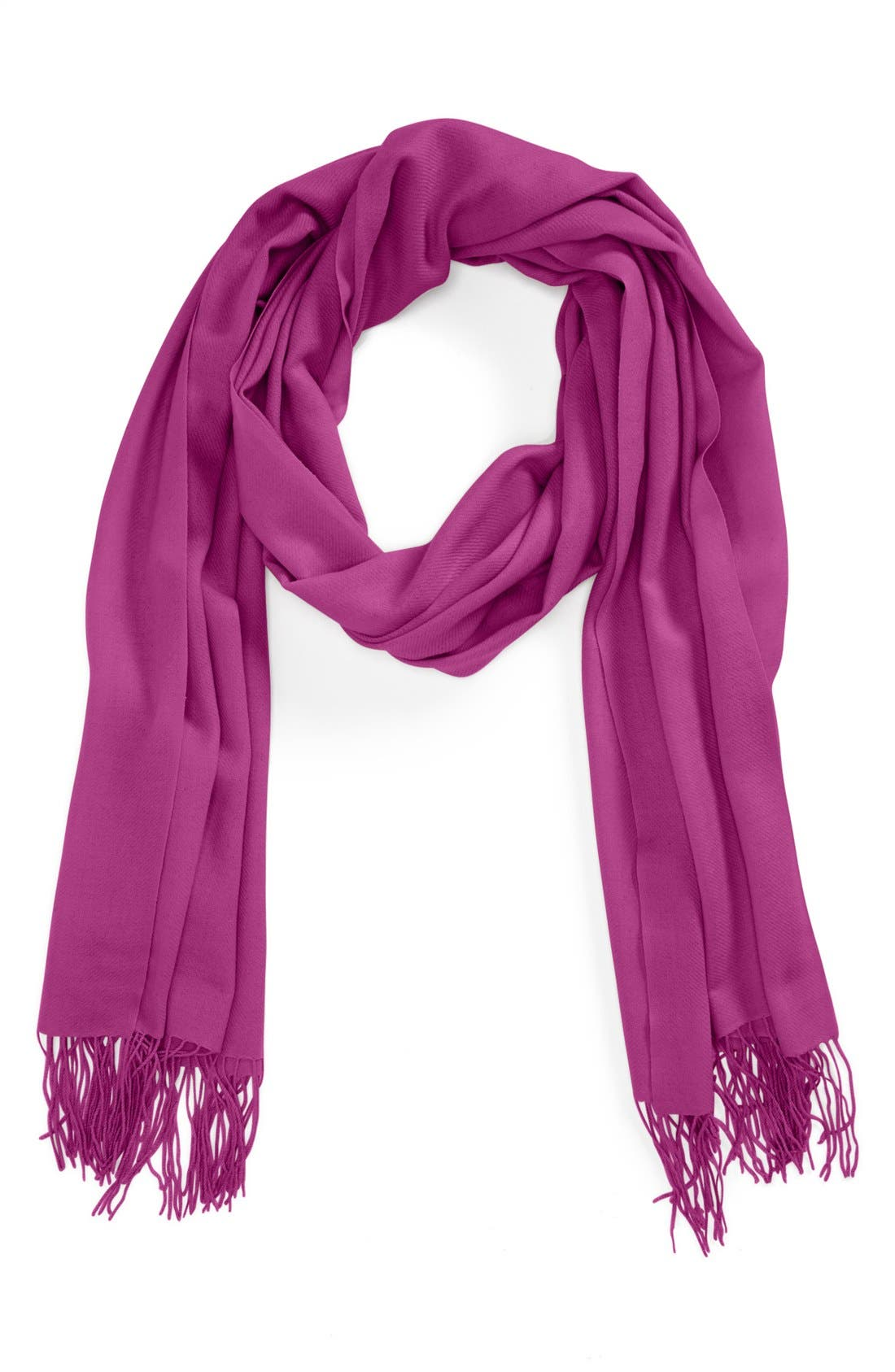 ,                             Tissue Weight Wool & Cashmere Wrap,                             Main thumbnail 192, color,                             696