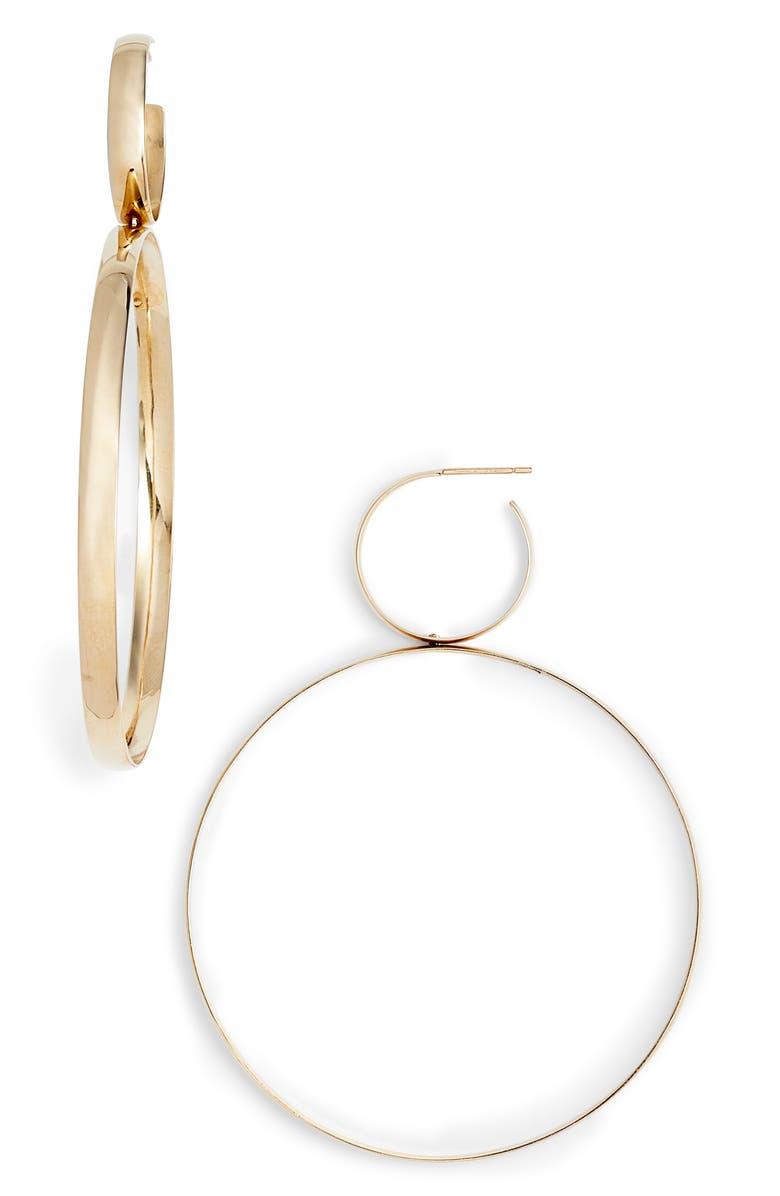 LANA JEWELRY Double Bubble Drop Earrings, Main, color, 710