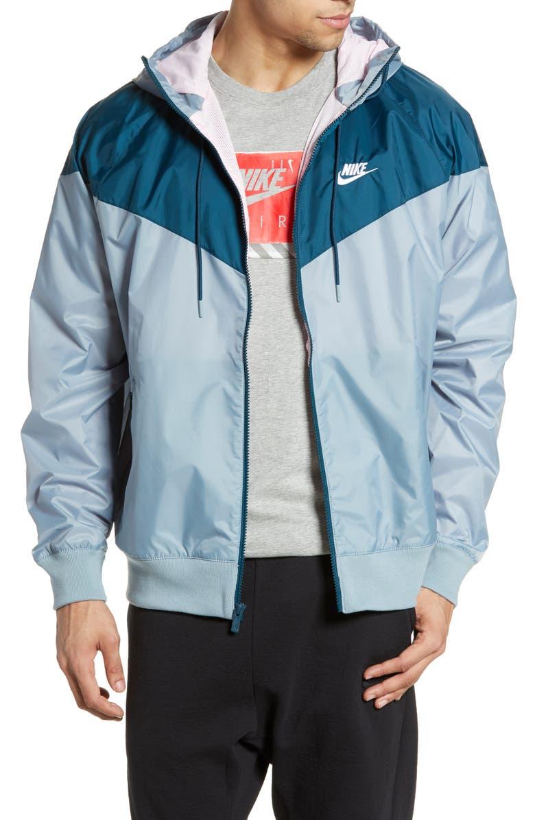NIKE Sportswear Windrunner Jacket, Main, color, AVIATOR GREY/ NIGHTSHADE