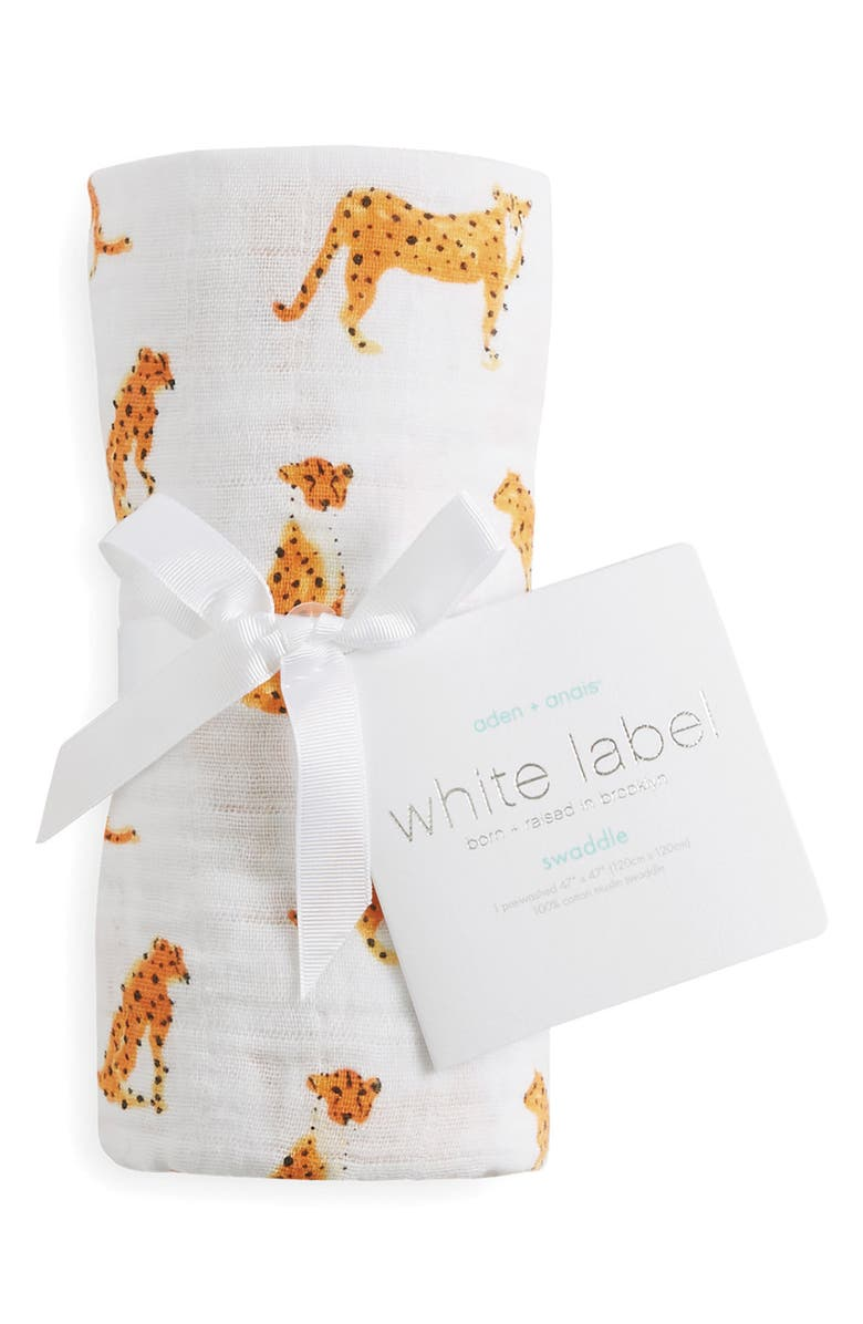 ADEN + ANAIS White Label Classic Swaddling Cloth, Main, color, 034