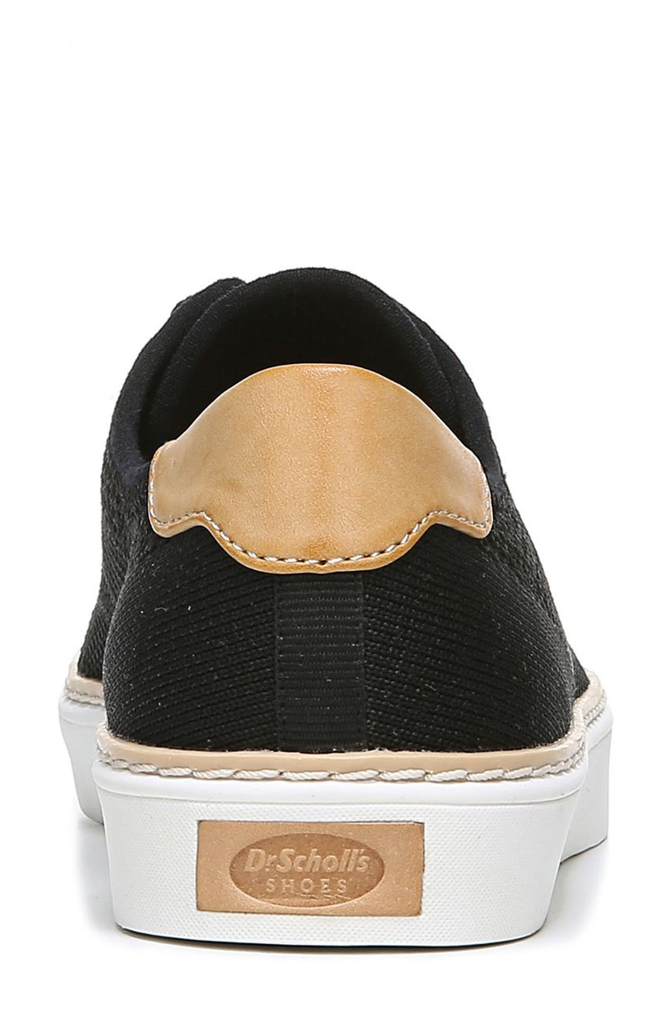 ,                             Madi Sneaker,                             Alternate thumbnail 7, color,                             BLACK FABRIC