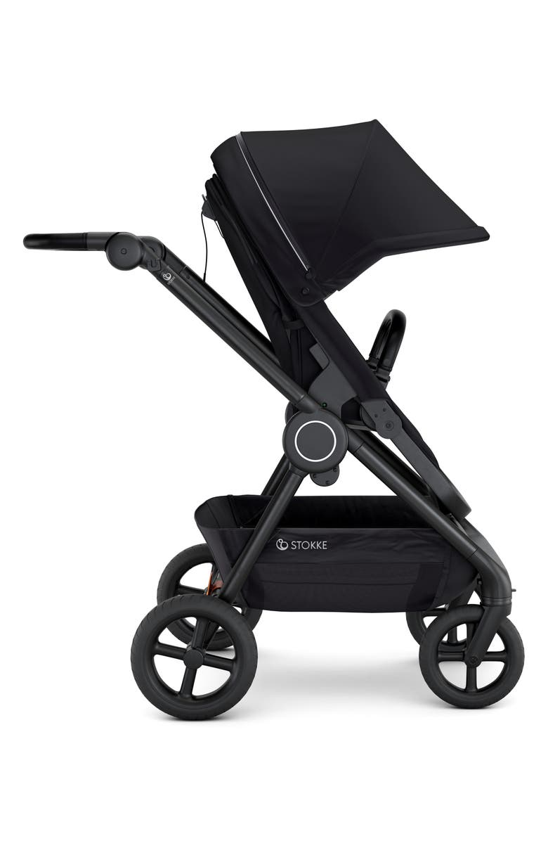 STOKKE Beat<sup>™</sup> Compact Urban Stroller, Main, color, BLACK