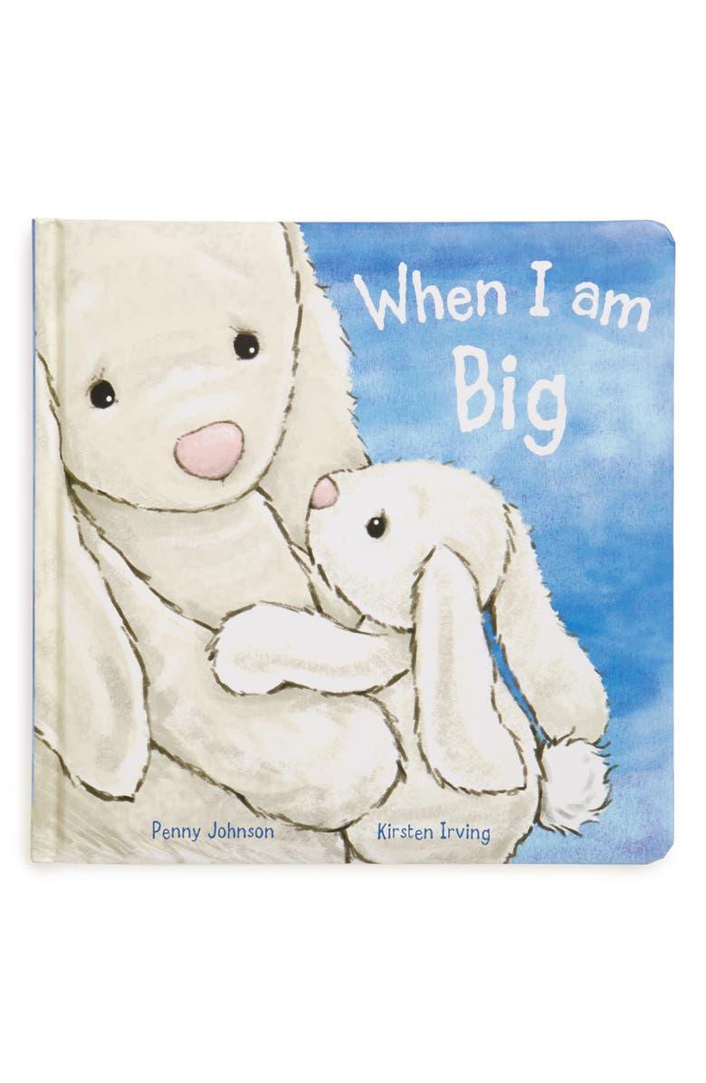 JELLYCAT 'When I Am Big' Board Book, Main, color, 000