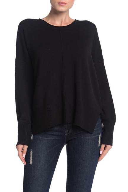 Image of French Connection Scoop Neck Long Sleeve Sweater