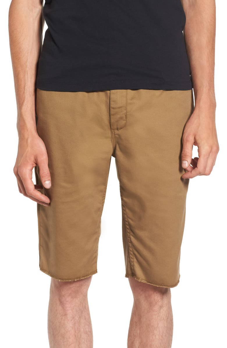 VANS Covina II - Anthony Van Engelen Twill Shorts, Main, color, DIRT