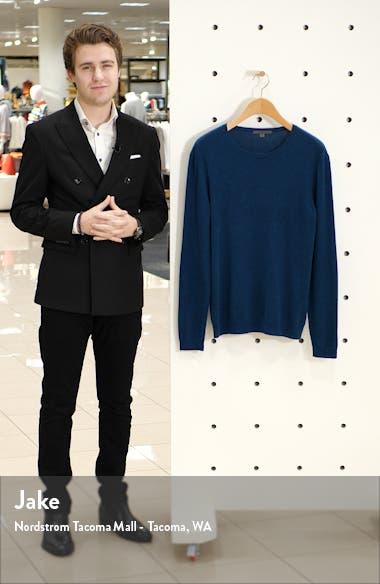 Slim Fit Crewneck Cashmere Sweater, sales video thumbnail