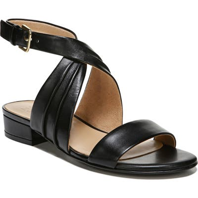 Naturalizer Maddy Ankle Strap Sandal- Black