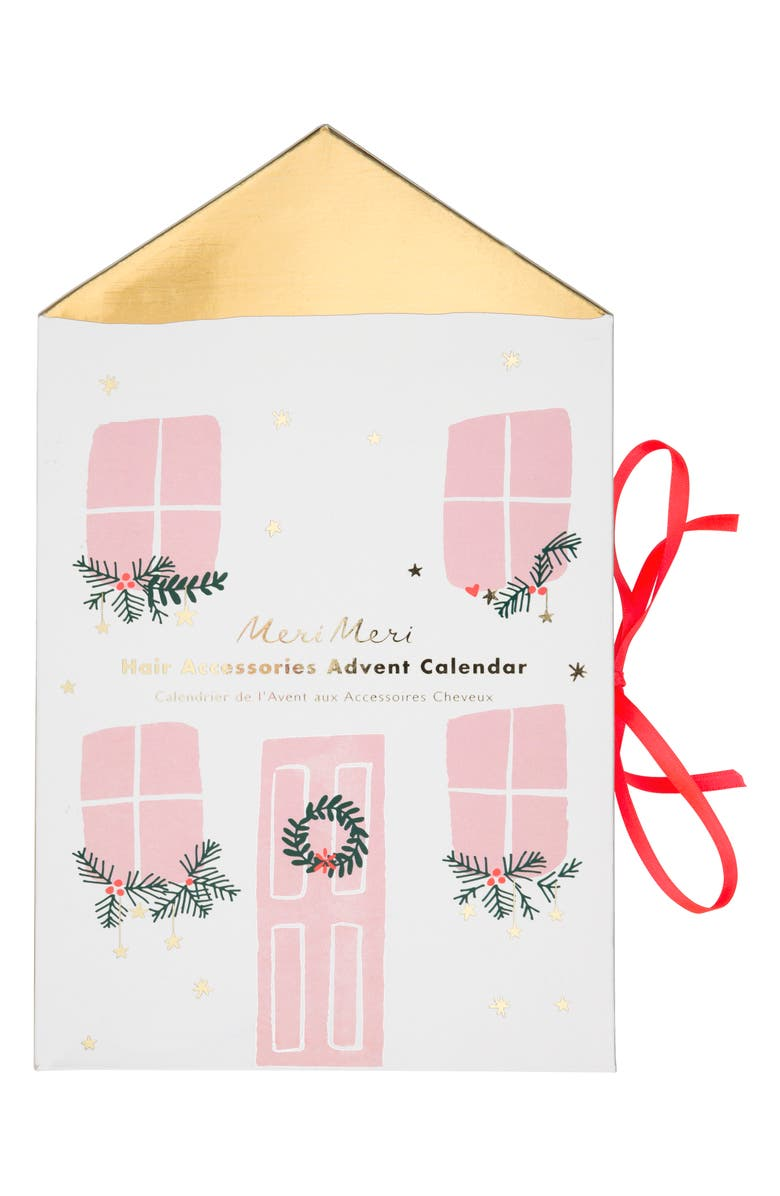MERI MERI Hair Accessories Advent Calendar, Main, color, 960