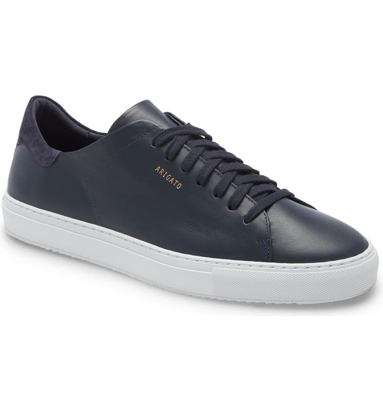 AXEL ARIGATO Clean 90 Sneaker, Main, color, NAVY LEATHER