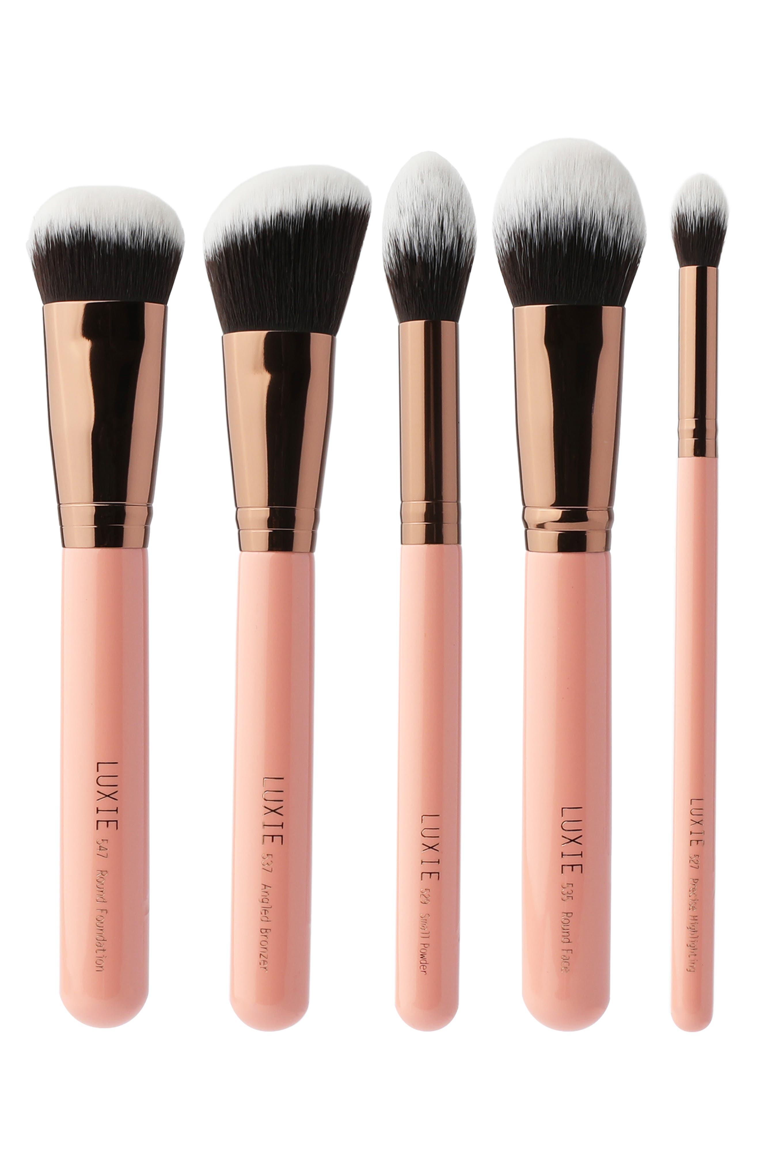 Rose Gold Pro Complexion Brush Set-$116 Value