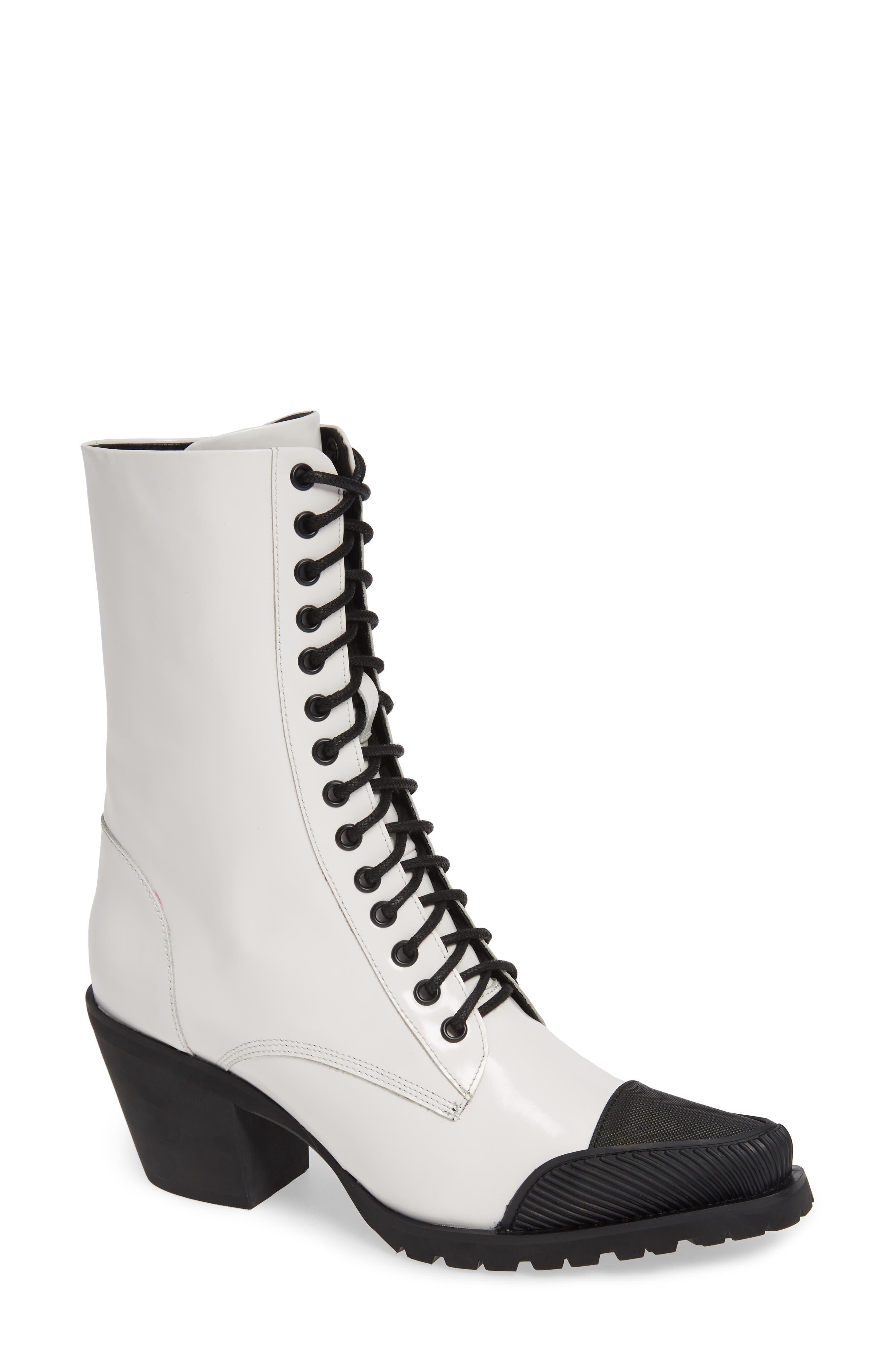 Jeffrey Campbell Vestal Boot, White