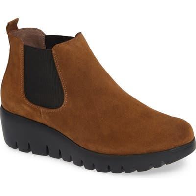 Wonders Slip-On Chelsea Boot - Brown
