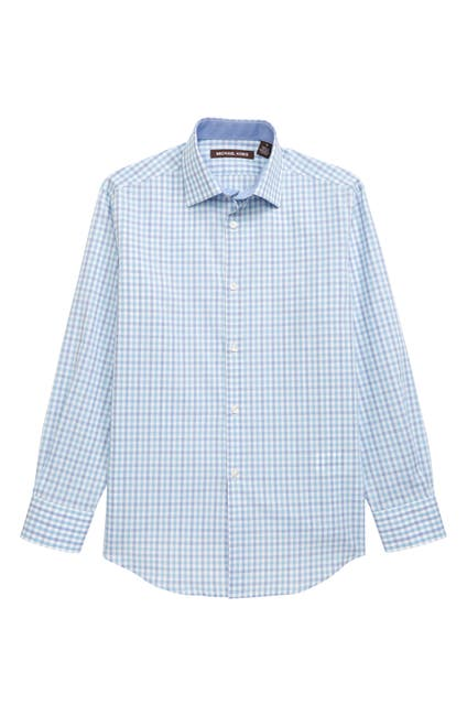 Image of Michael Kors Check Dress Shirt