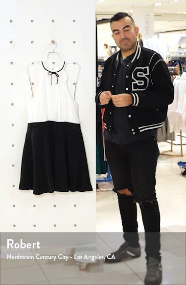 Scallop Halter Skater Dress, sales video thumbnail