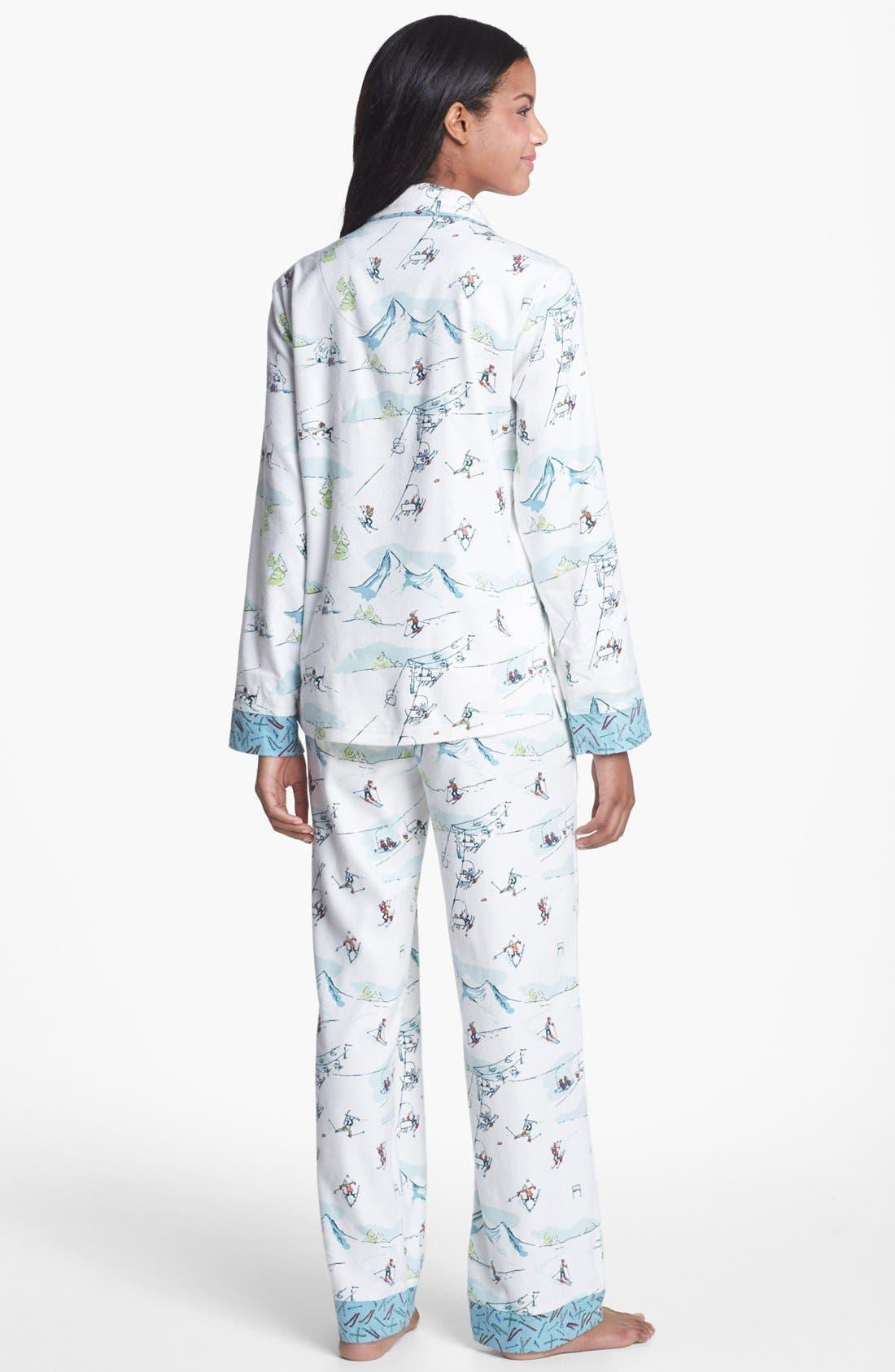 ,                             Flannel Pajamas,                             Alternate thumbnail 17, color,                             106