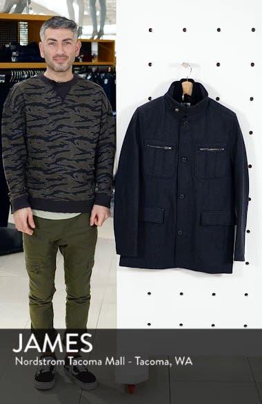 Wool Blend Jacket, sales video thumbnail