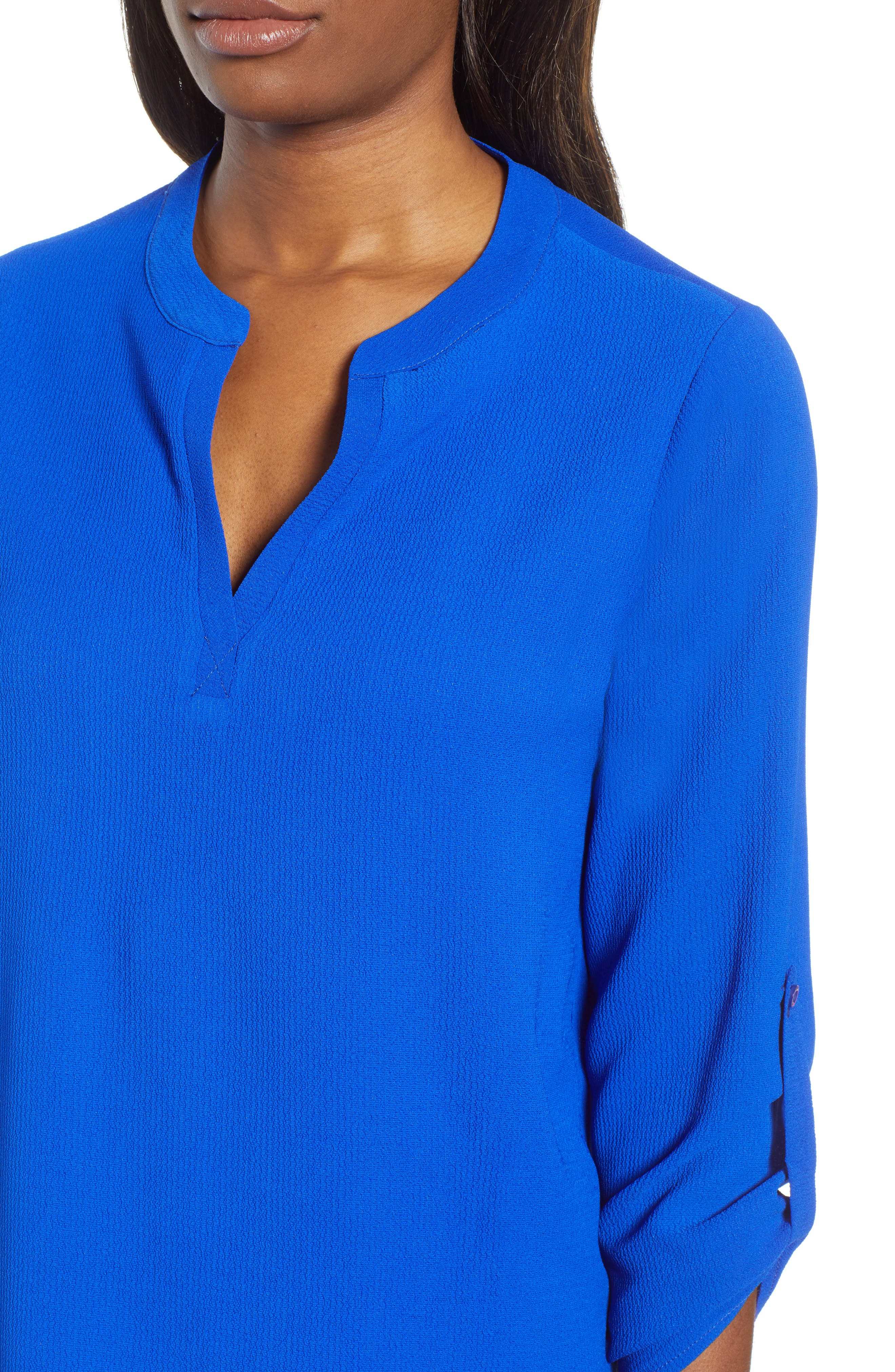 ,                             x International Women's Day Erin Cross Front Tunic Blouse,                             Alternate thumbnail 50, color,                             499
