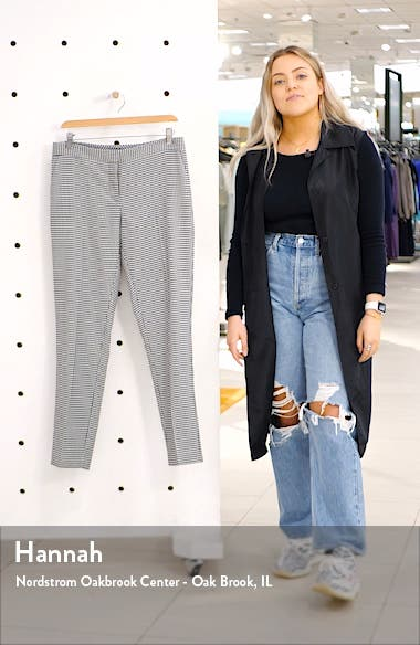 Houndstooth Ankle Pants, sales video thumbnail